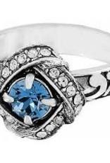 Brighton Brighton, Blue eternity knot ring