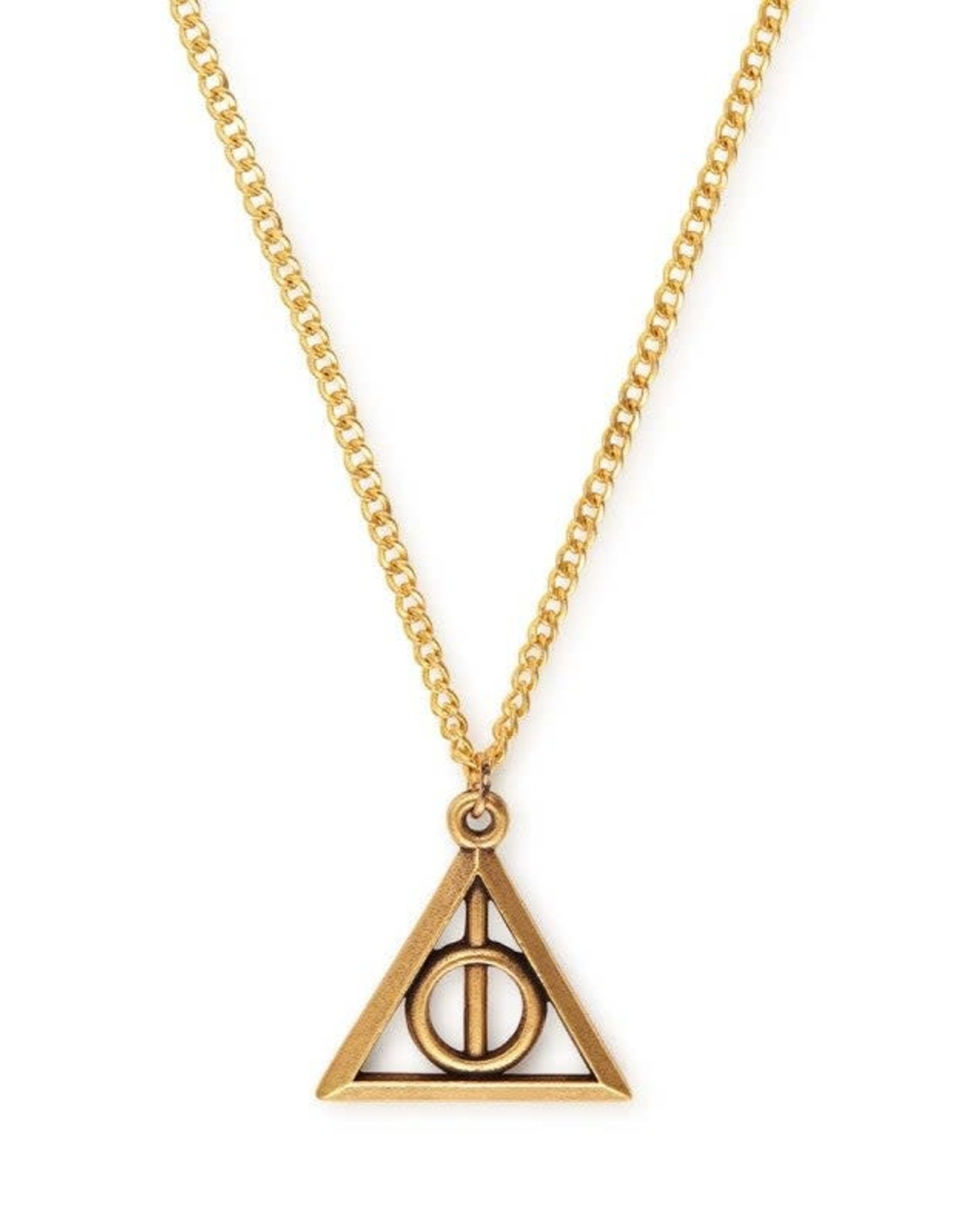 Alex and Ani Harry Potter, Deathly Hallows 24in Necklace Gold