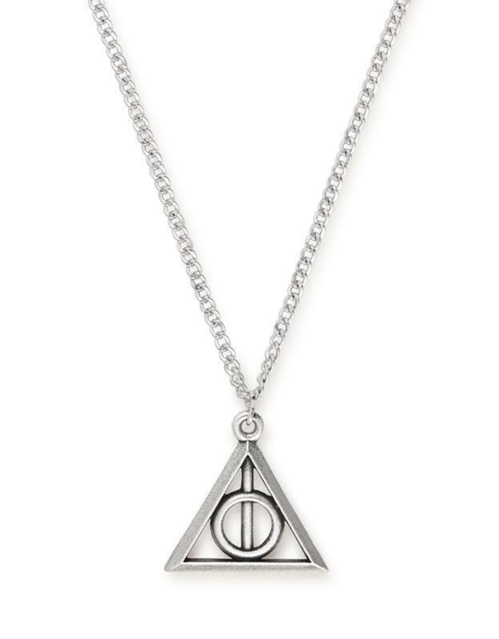Alex and Ani Harry Potter, Deathly Hallows 24in Necklace Silver