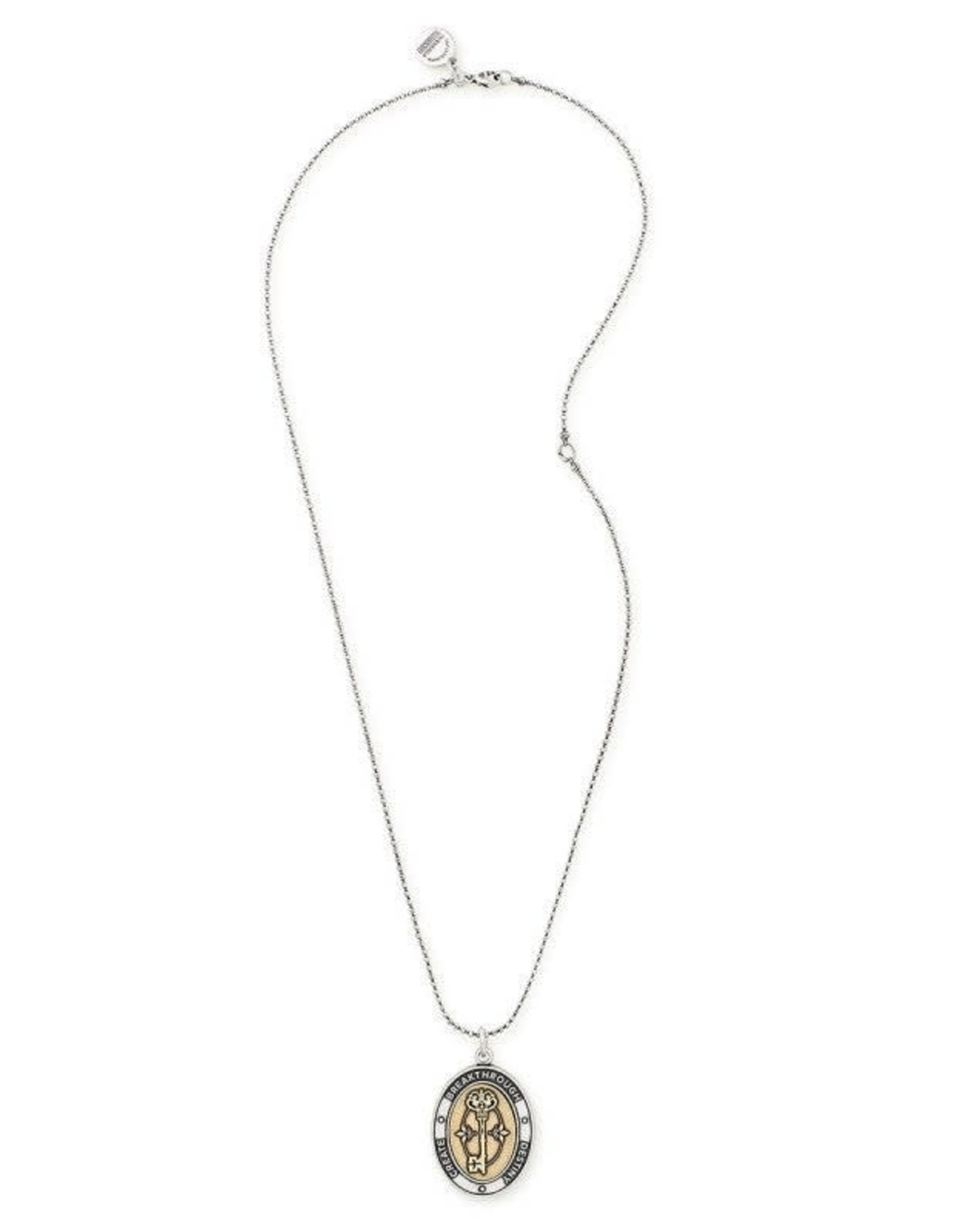 Alex and Ani Key To Life 24in. Adjustable Necklace, Two-Tone