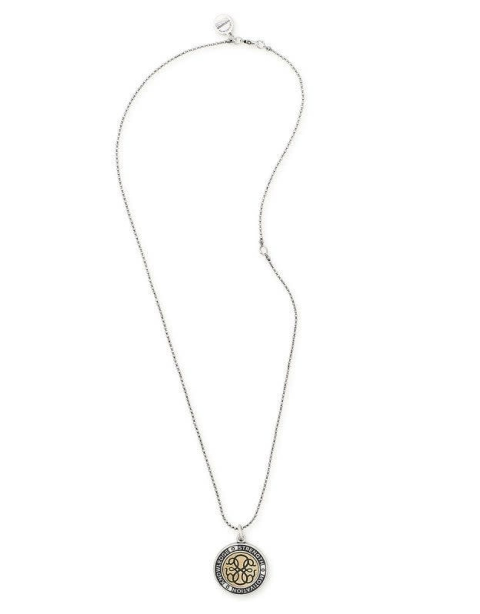 Alex and Ani Path Of Life 24in. Adjustable Necklace, Two-Tone
