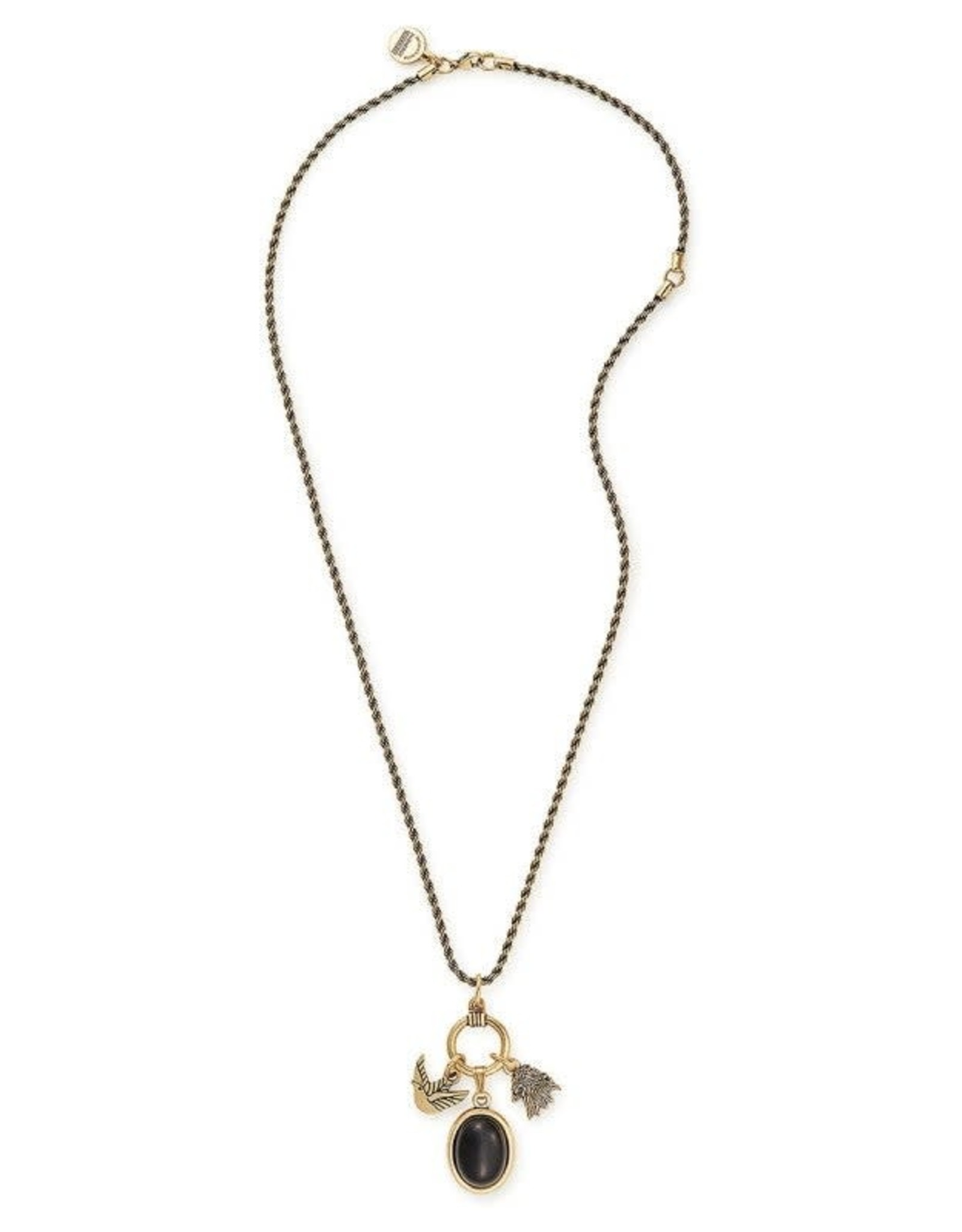 Alex and Ani Game of Thrones, Lannister 21in. Adjustable Trio Necklace