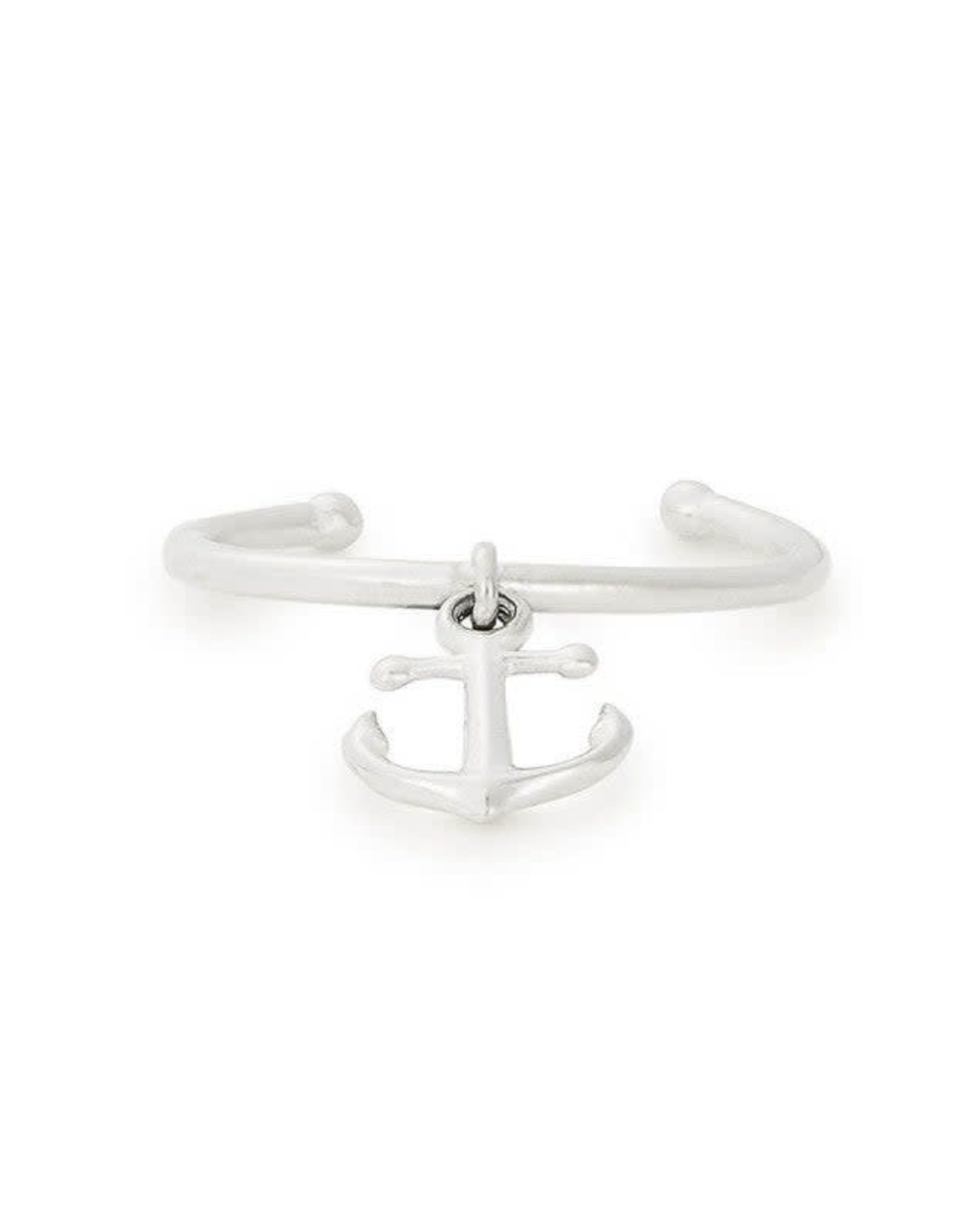 Alex and Ani Anchor Adjustable Ring, Sterling Silver FINAL SALE