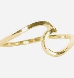 PuraVida Puravida, Gold Wave Ring