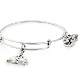 Alex and Ani Whale Tail, Silver FINAL SALE