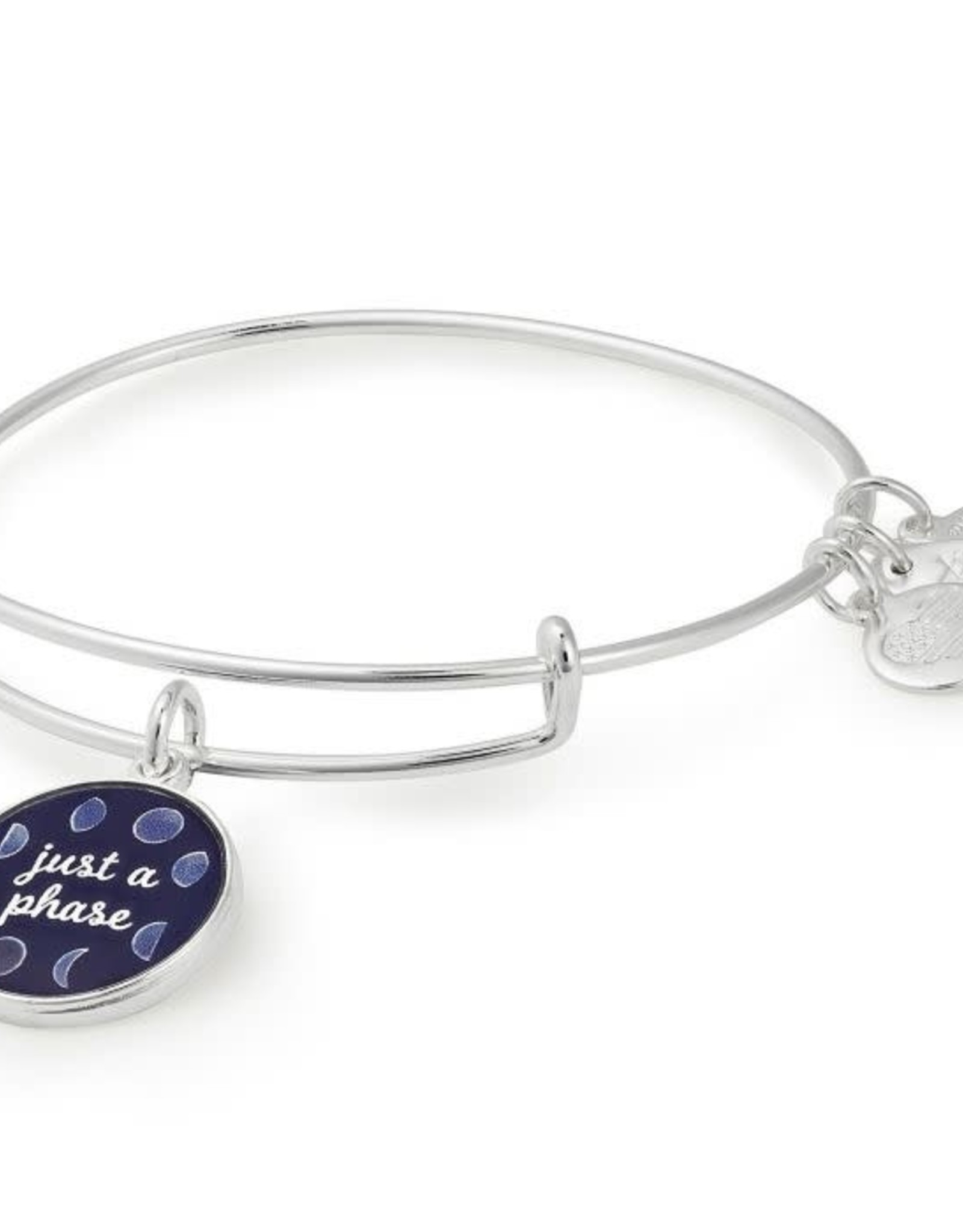 Alex and Ani Art Infusion, Just A Phase, Shiny Silver FINAL SALE