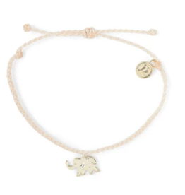 PuraVida PuraVida, Elephant Bracelet Gold, VANL
