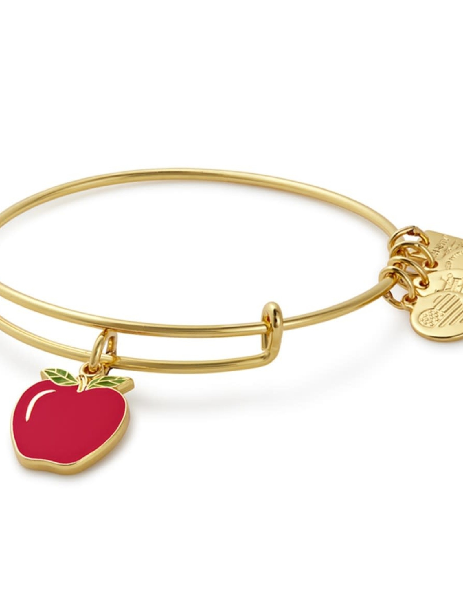 Alex and Ani Apple, Charity by Design Shiny Gold