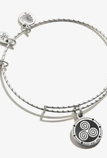 Alex and Ani Embossed Paint Charm, Triskelion, RS FINAL SALE