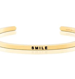 MantraBand MantraBand, Smile, Gold