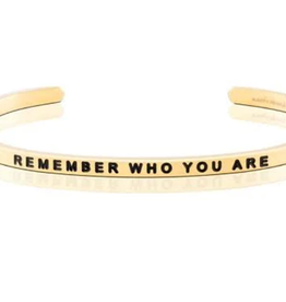 MantraBand MantraBand, Remember Who You Are, Gold