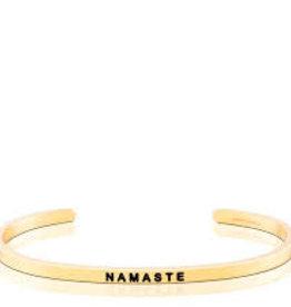 MantraBand MantraBand, Namaste, Gold