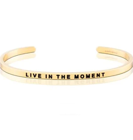 MantraBand MantraBand, Live in the Moment, Gold
