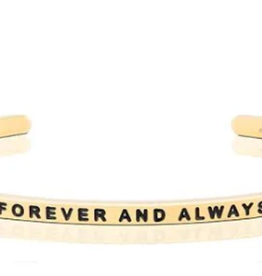 MantraBand MantraBand, Forever And Always, Gold