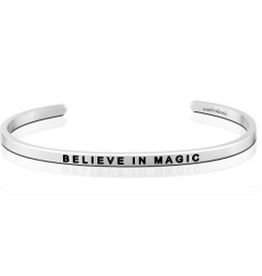 MantraBand MantraBand, Believe In Magic, Silver