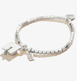 Alex and Ani 2020 Graduation Cap Charm Stretch Bracelet