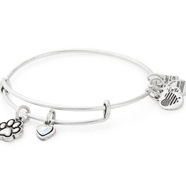 Alex and Ani Paw Print Duo, Charity by Design