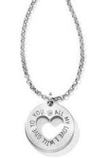 Brighton Brighton, Circle Of Love Pendant Necklace