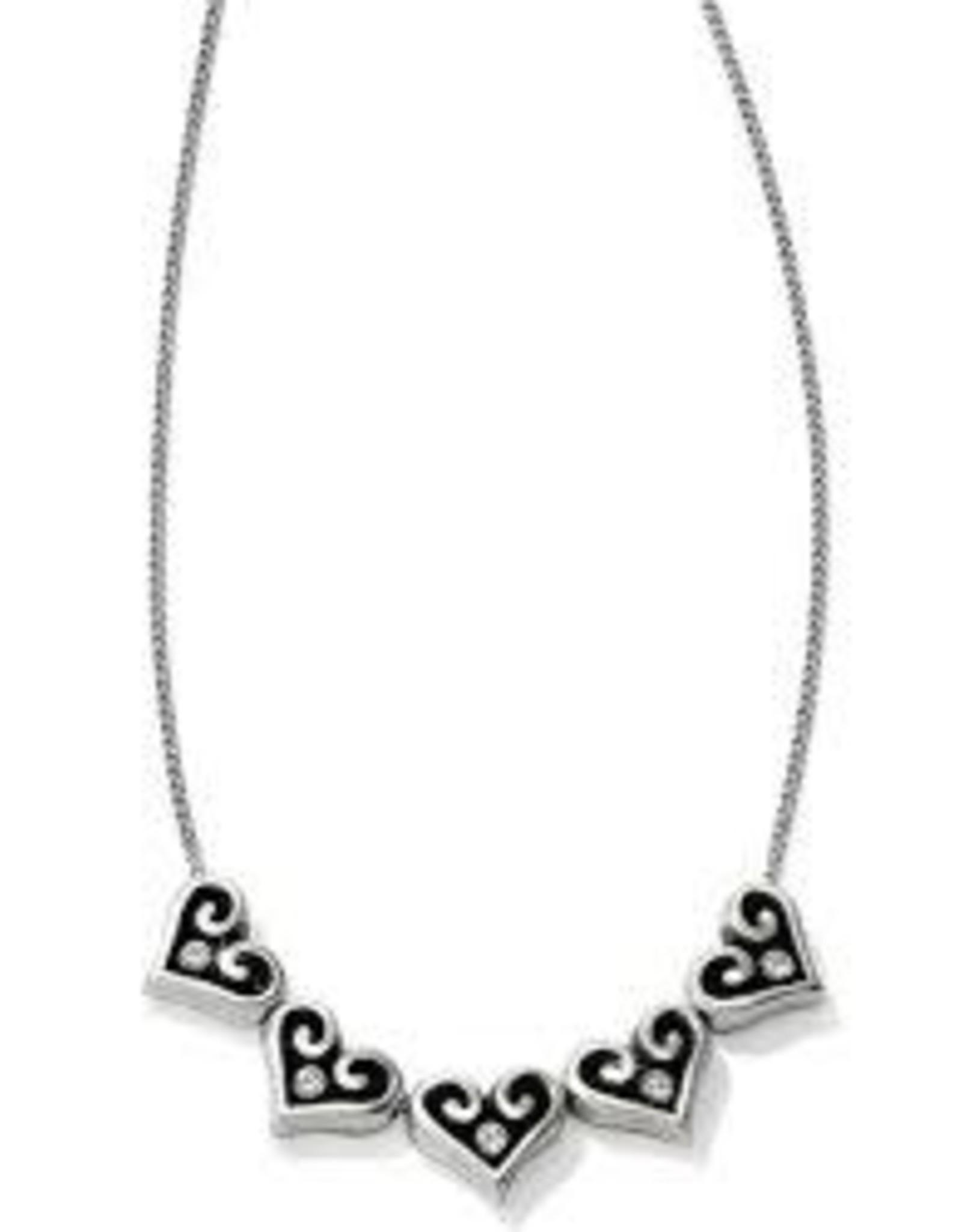 Brighton Brighton, Alcazar Hearts Slider Necklace