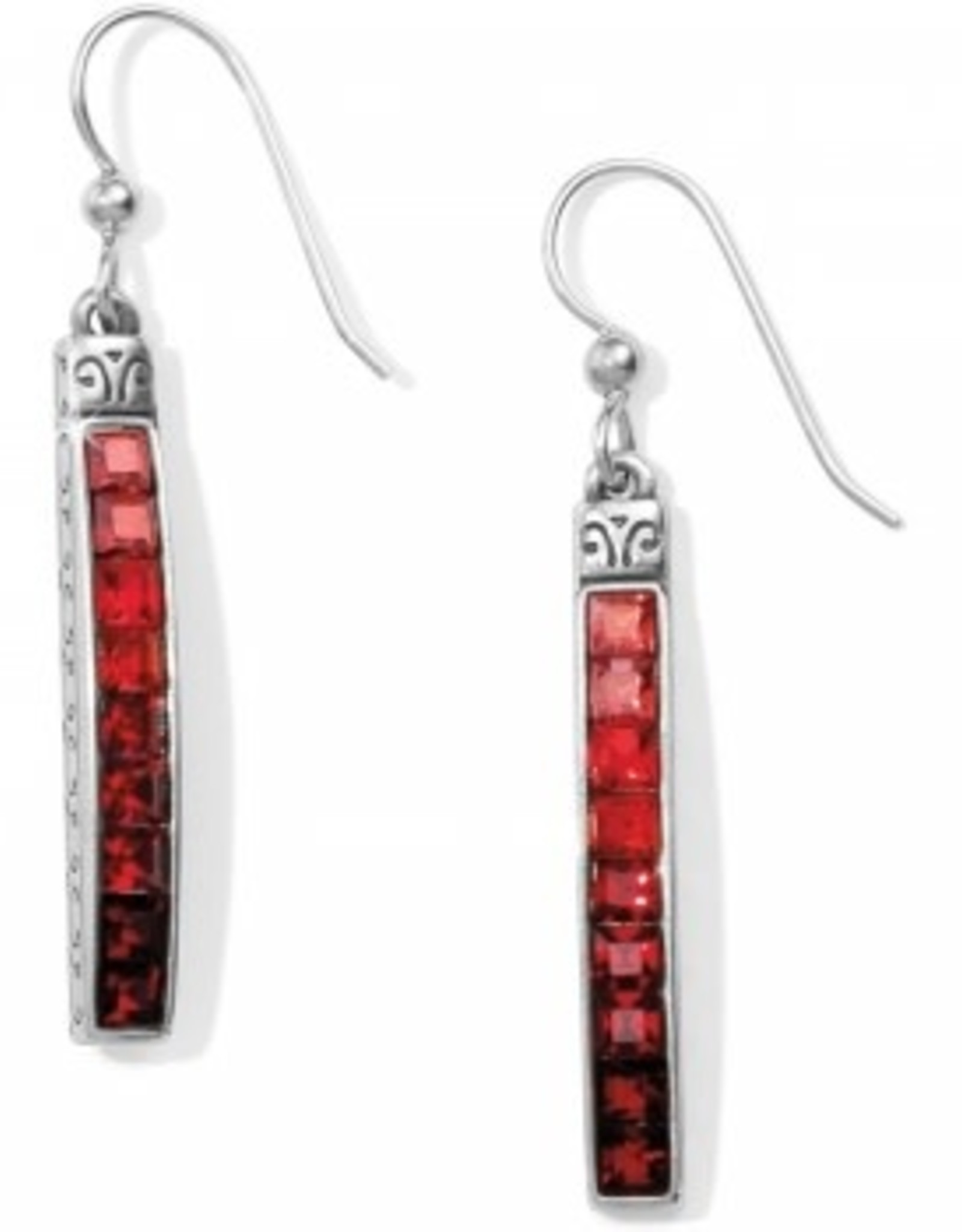 Brighton Brighton, Red Spectrum French Wire Earring