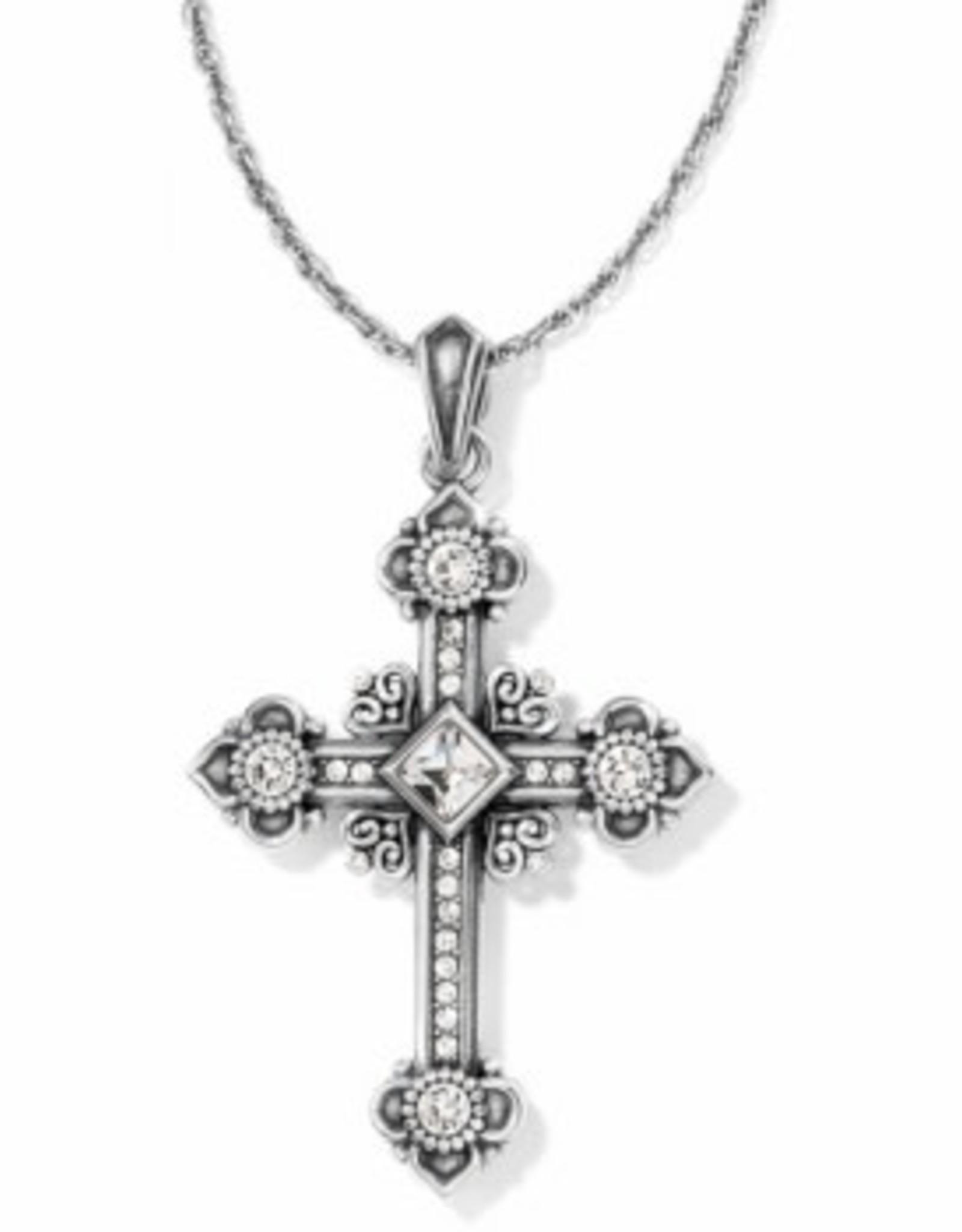 Brighton Brighton, Alcazar Cross Necklace