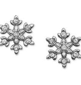 Brighton Brighton, Snowflake Dazzle Mini Post Earrings