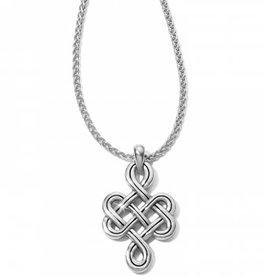 Brighton Brighton, Interlok Endless Knot Petite Necklace