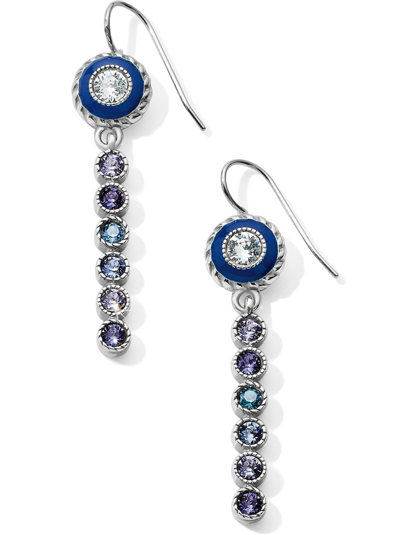 Brighton Brighton, Halo Eclipse Long French Wire Earrings