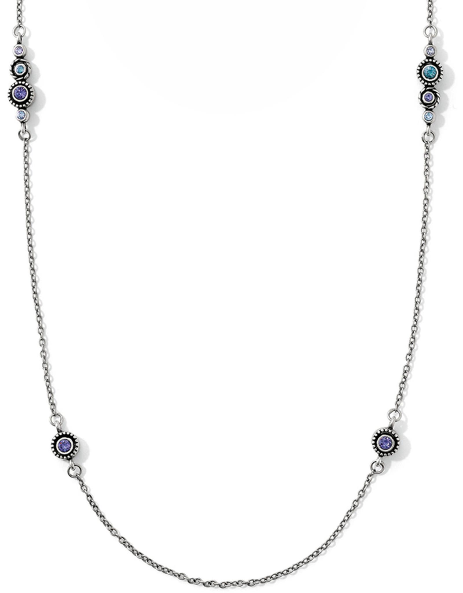 Brighton Brighton, Halo Long Necklace, Purple