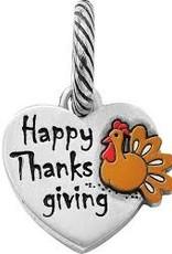 Brighton Brighton, Happy Thanksgiving Charm