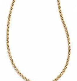 Brighton Brighton, ABC's Classic Short Necklace, Gold