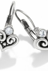 Brighton Brighton, Alcazar Heart Leverback Earrings