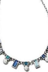 Brighton Brighton, Blue Showers Collar Necklace