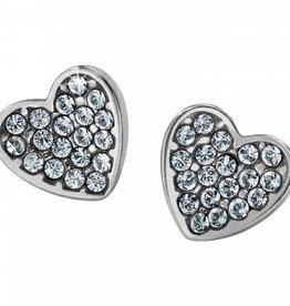 Brighton Brighton, Chara Heart Mini Post Earrings