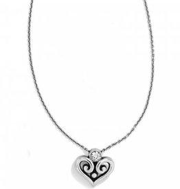 Brighton Brighton, SIL/STN Alcazar Heart Necklace