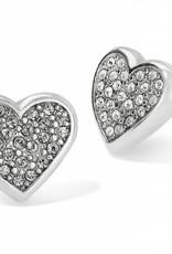 Brighton Brighton, Eden Hearts Mini Post Earrings Silver