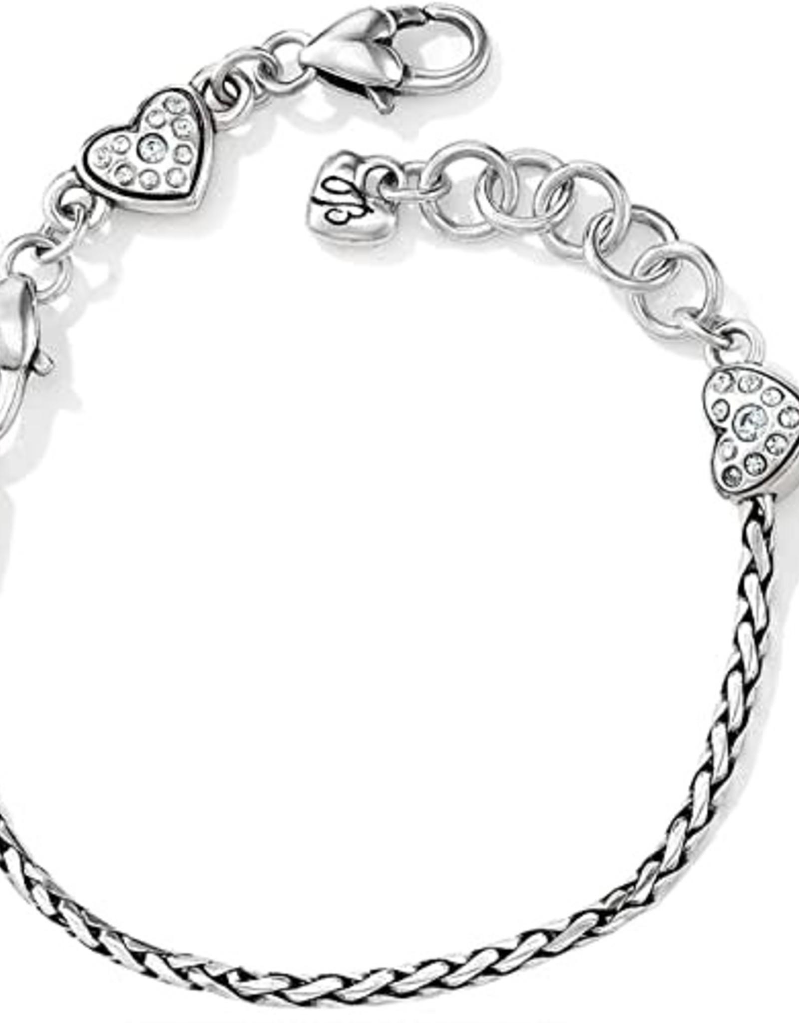 Brighton Brighton, ABC Heart Slide Bracelet