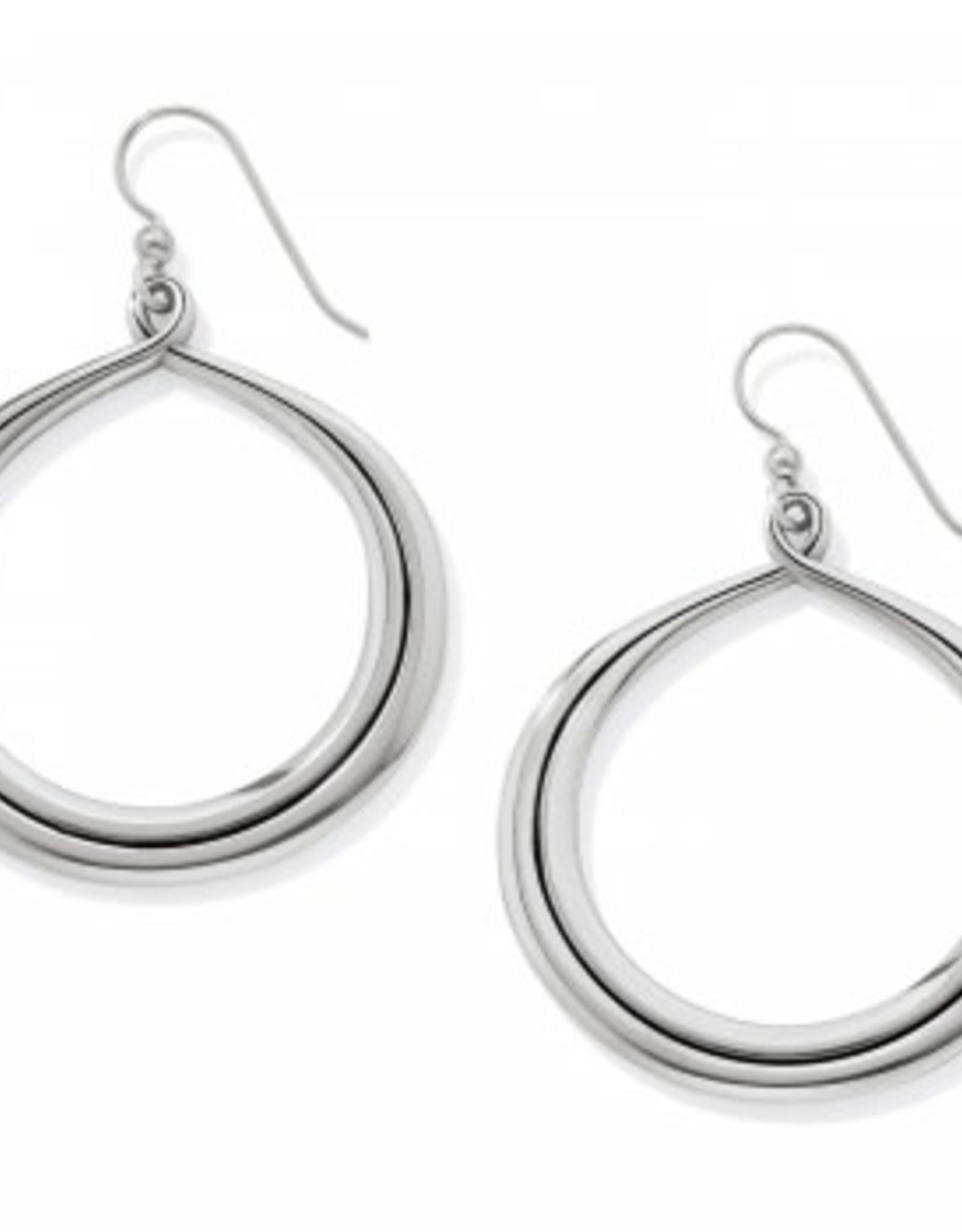 Brighton Brighton, Interlock Circle French Wire Earrings