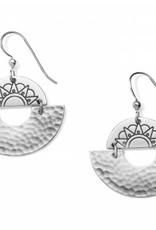 Brighton Brighton, Marrakesh Soleil Small French Wire Earrings OS silver