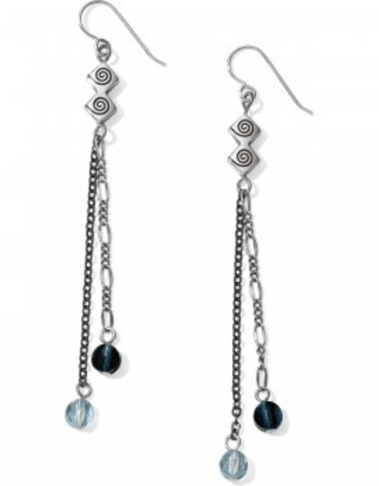 Brighton Brighton, Marrakesh Bazaar Blue French Wire Earrings