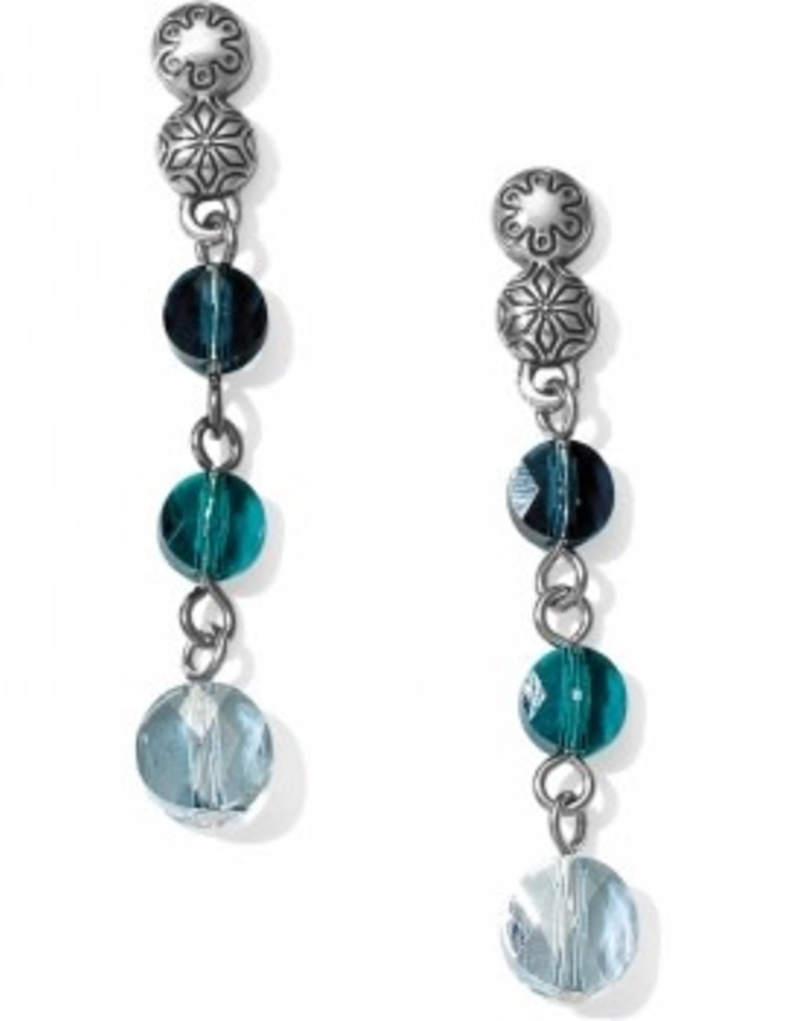 Brighton Brighton, Marrakesh Blue Post Drop Earrings