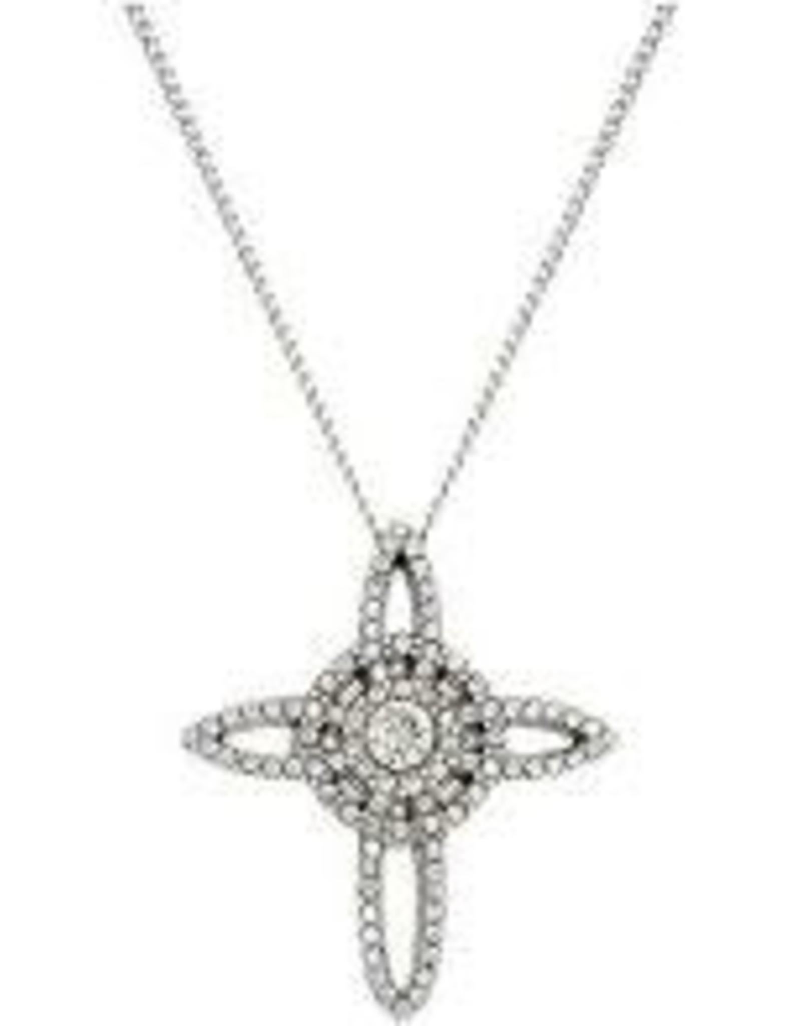 Brighton Brighton, Illumina Petite Cross Necklace