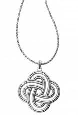 Brighton Brighton, Interlock Spiral Statement Necklace