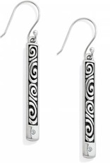 Brighton Brighton, London Groove Bar Reversible French Wire Earrings