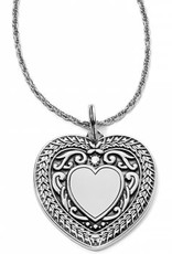 Brighton Brighton, Medaille Convertable Heart Necklace