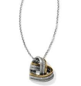 Brighton Brighton, Neptune's Rings Woven Heart Necklace