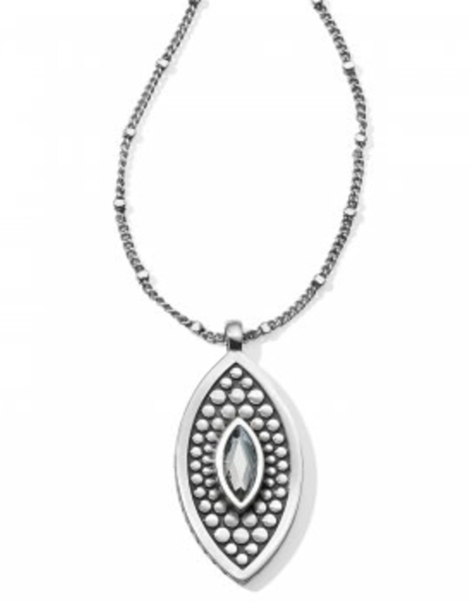 Brighton Brighton, Pebble Disc Marquise Necklace