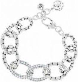 Brighton Brighton, Pebble Pave Link Necklace