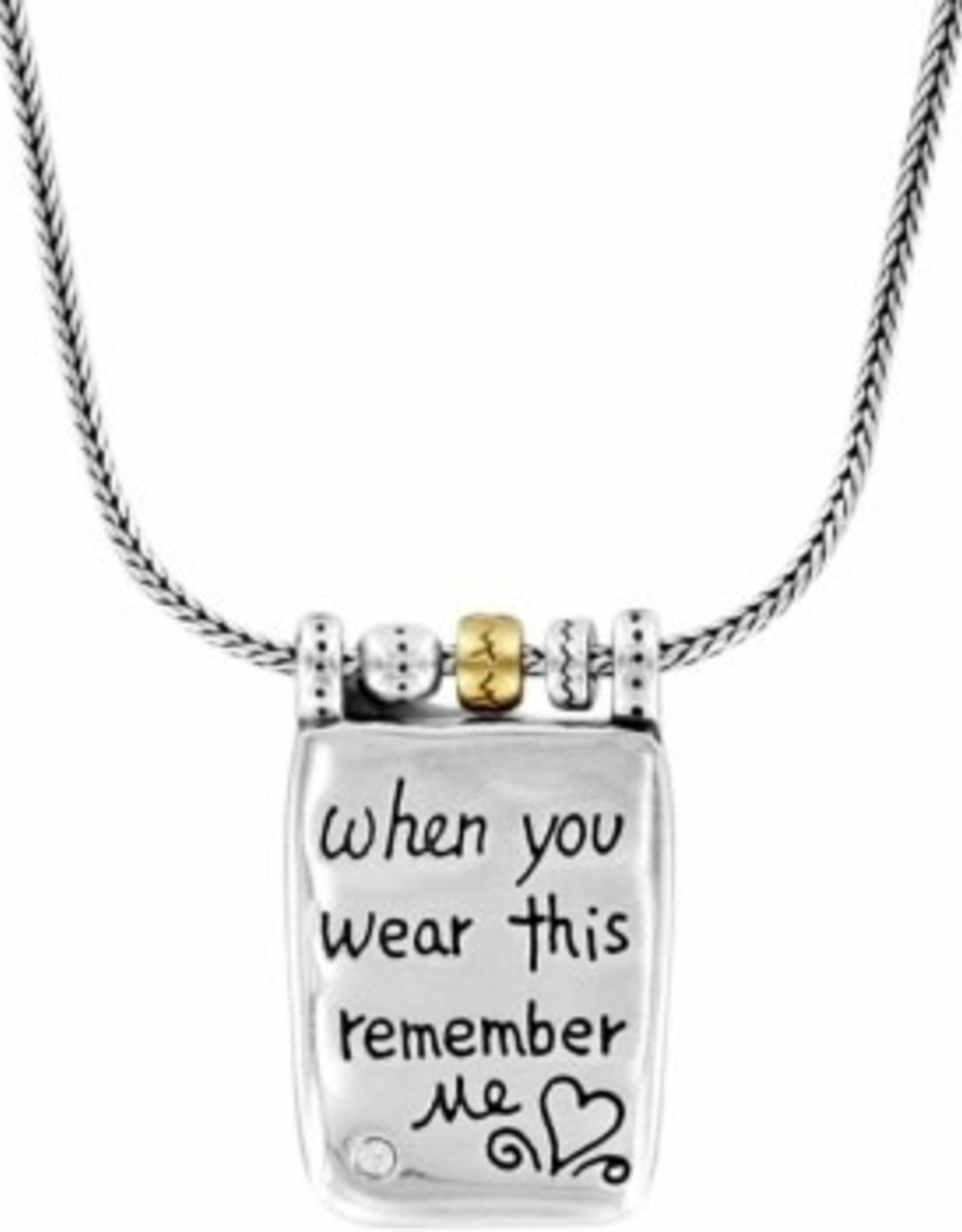Brighton Brighton, Remember Your Heart Necklace