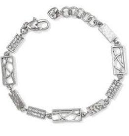 Brighton Brighton, Meridian Zenith Link Bracelet, Silver